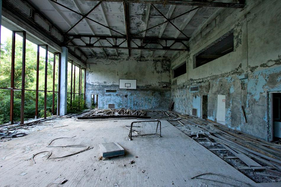 çernobil nükleer pripyat ukrayna şehir fotoğrafları 2