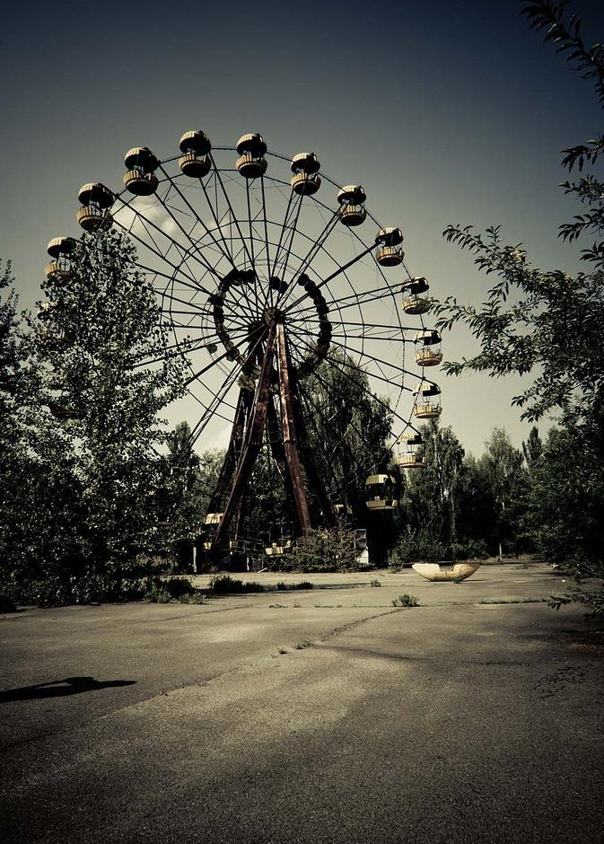 çernobil nükleer pripyat ukrayna şehir fotoğrafları 3