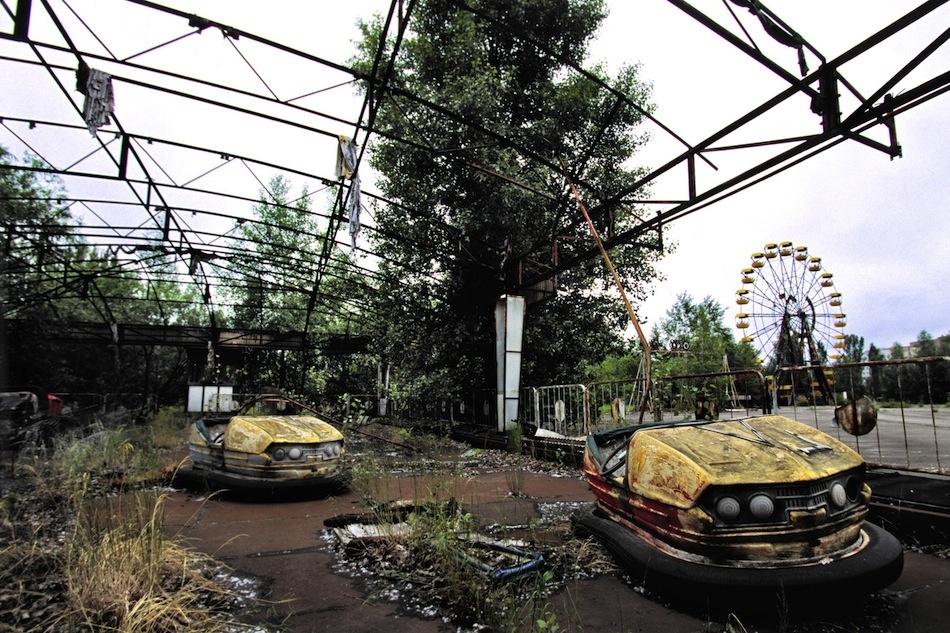 çernobil nükleer pripyat ukrayna şehir fotoğrafları 4