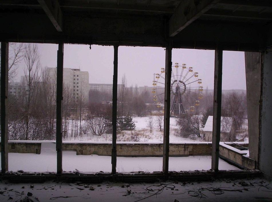 çernobil nükleer pripyat ukrayna şehir fotoğrafları 5