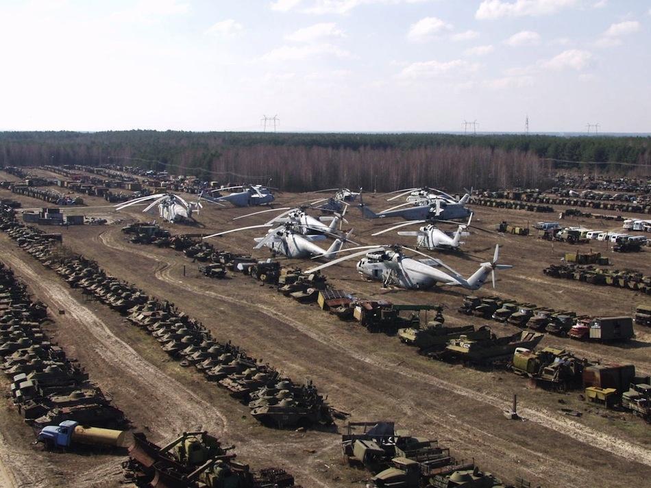 çernobil nükleer pripyat ukrayna şehir fotoğrafları 6