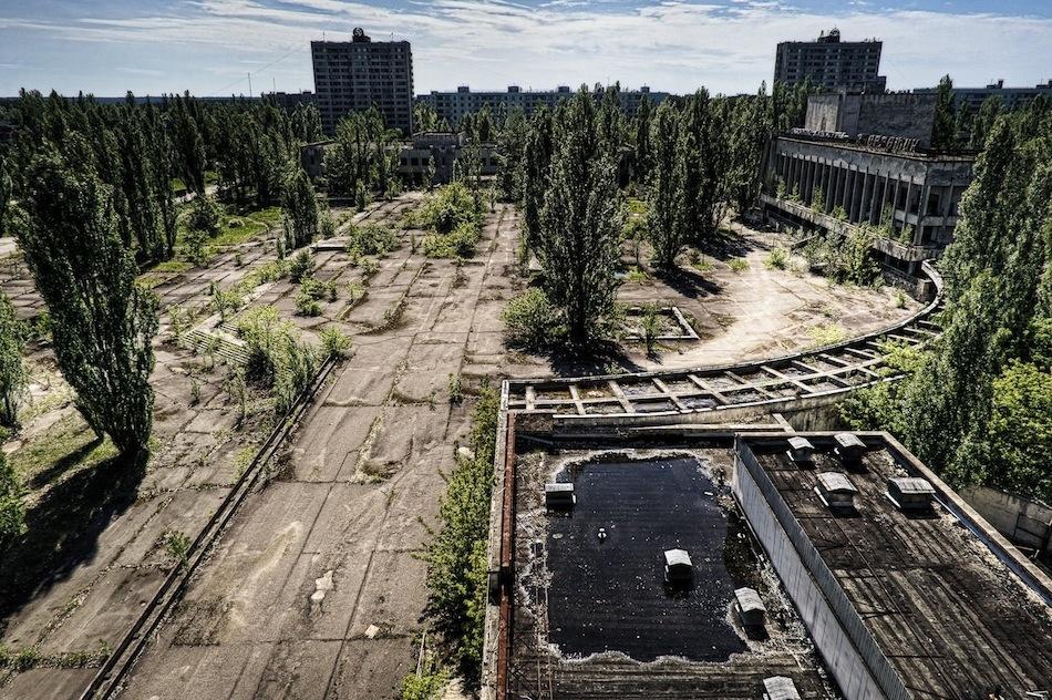 çernobil nükleer pripyat ukrayna şehir fotoğrafları 7