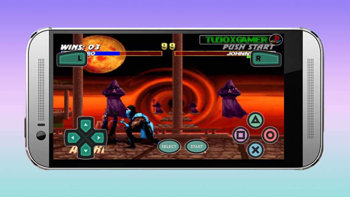 Android icin playstation 1 emulatoru