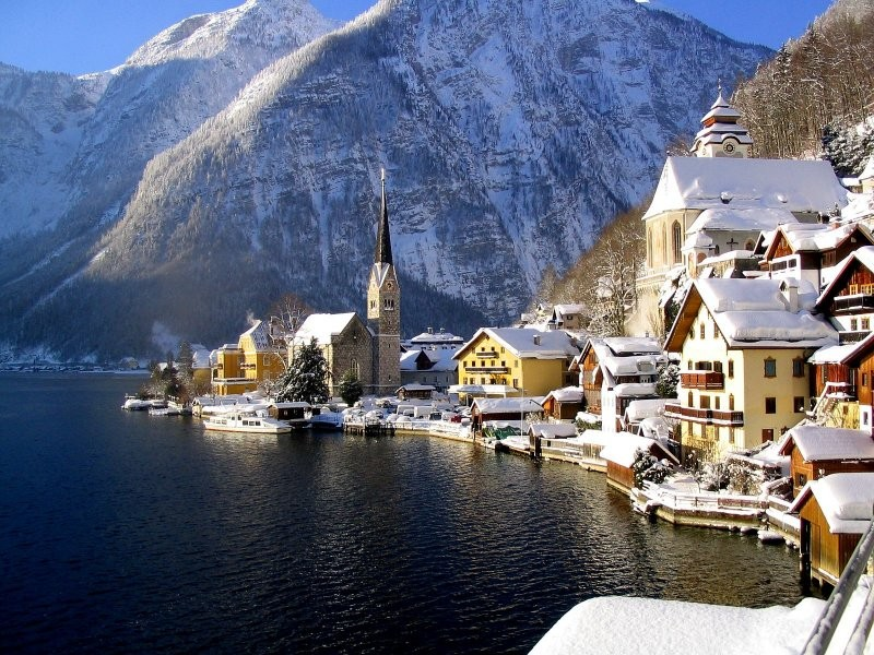 Hallstatt-Avusturya