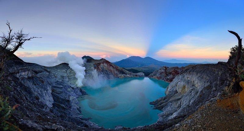 Kawah Ijen krater golu