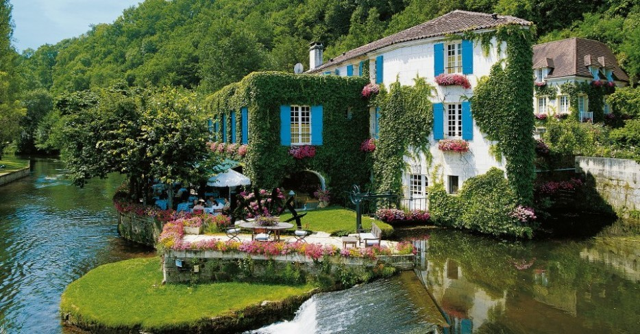 Otel-Moulin-de-Roc-Fransa