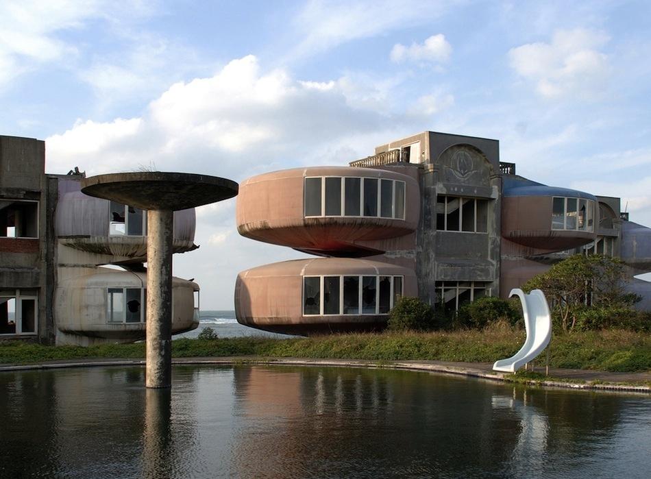 Sanzhi tayvan UFO evleri 3