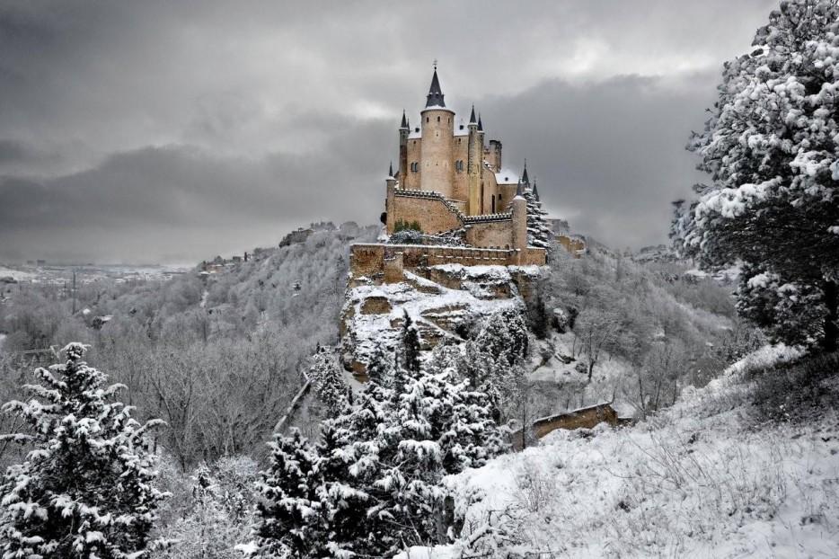 Segovia-ispanya-Alkazar