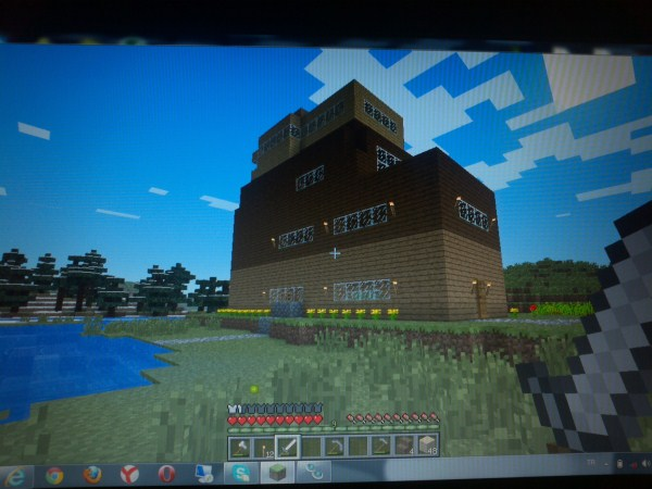 minecraft 5 katli evim