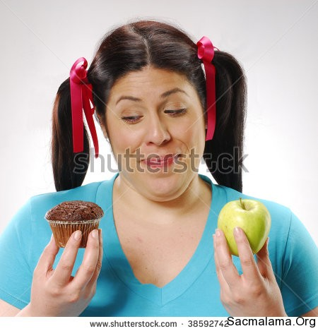 stock-photo-fat-girl-holding-a-chocolate-snack-cake-and-apple-happy-girl-holding-a-chocolate-snack-cake-and-38592742