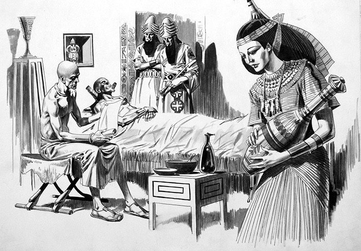 Tarihte tıbbi tedavide ölü fare