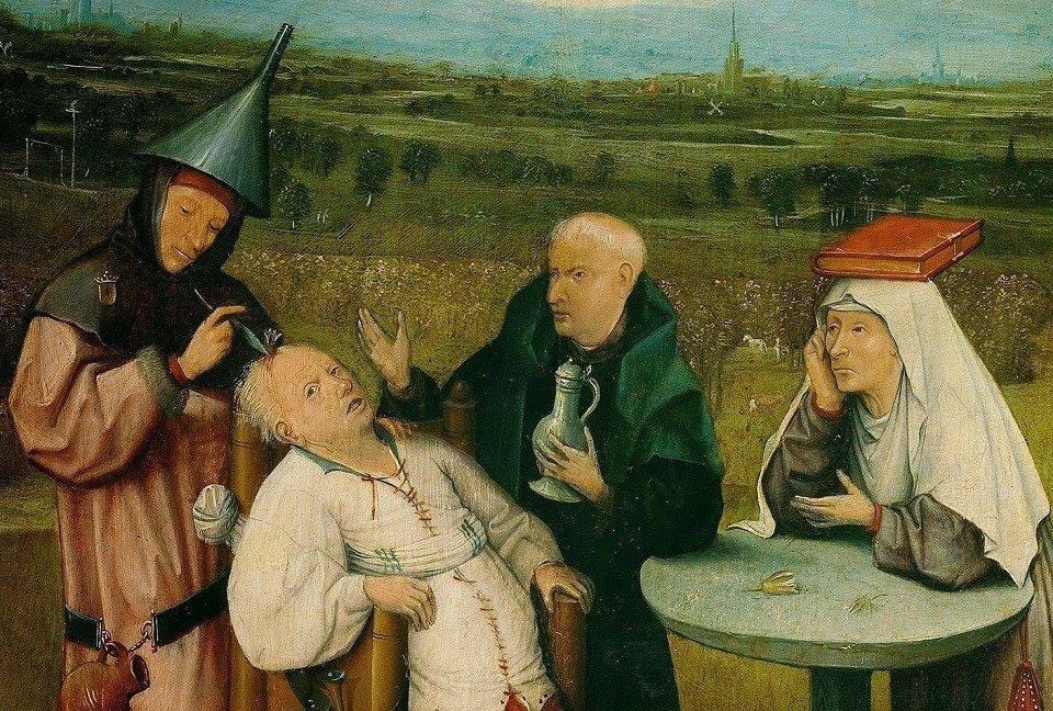 Tarihte tıbbi tedavide trepansyon