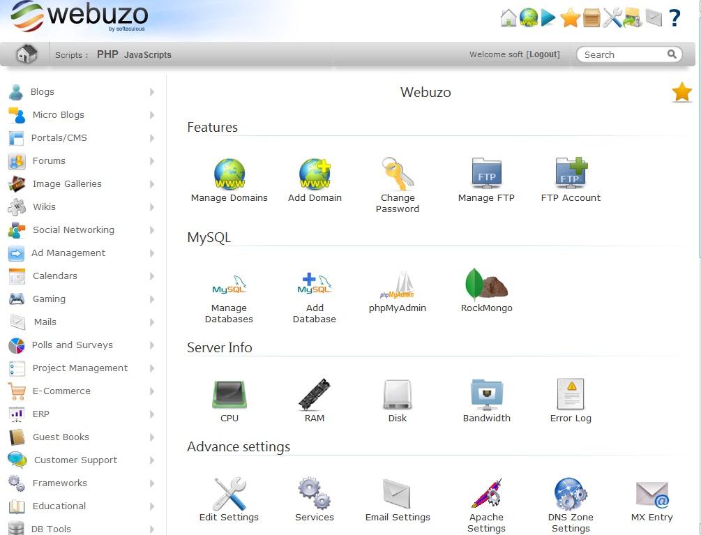 webuzo